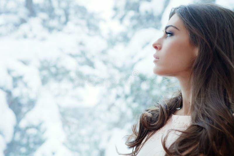 Winter Portrait Stock Image
