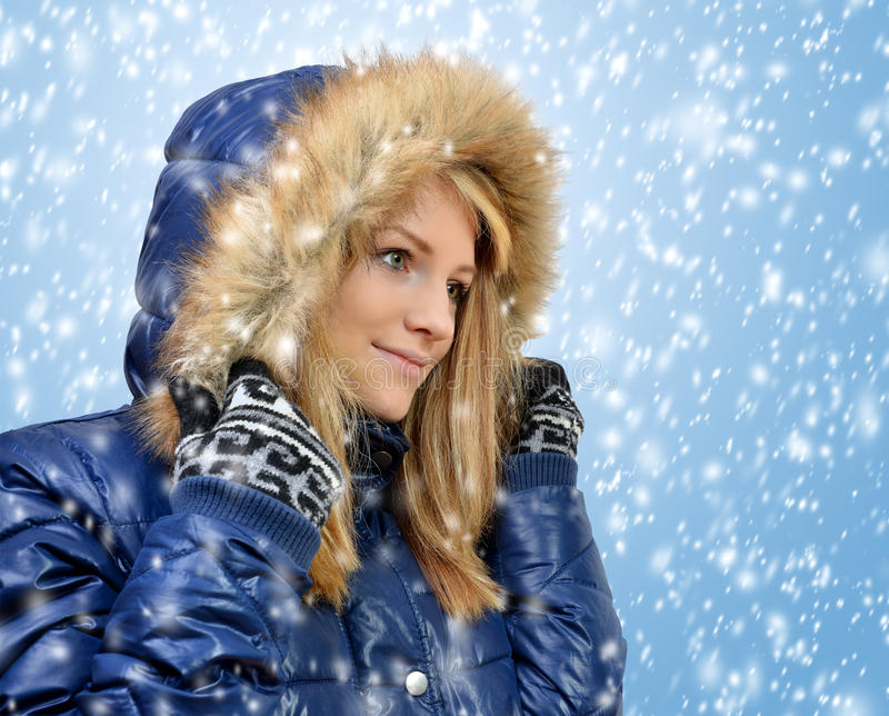 Download Winter Portrait Girl Stock Photo - Image: 29786390