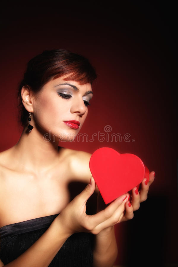 Download Winter Portrait Of A Beautiful Young Woman Stock Photo - Image: 12421270