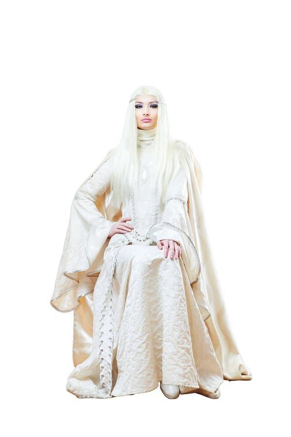 Winter princess royalty free stock photography