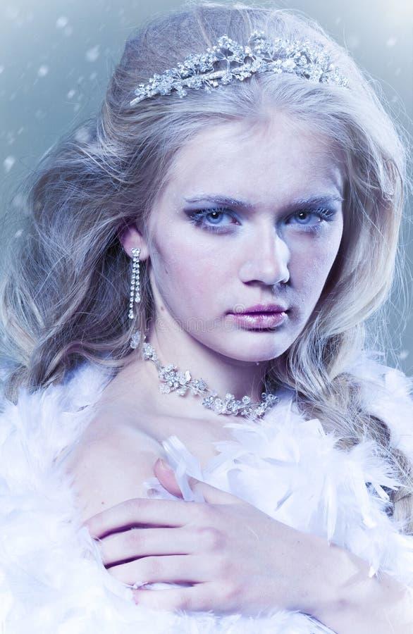 Winter Queen Stock Photos