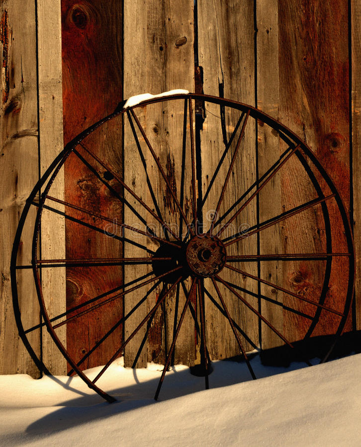 Winter-Rad stockbilder