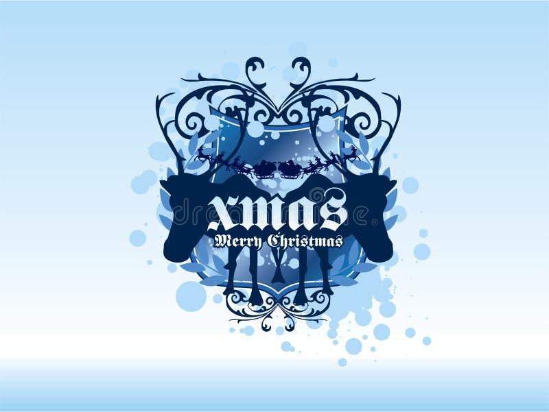 Download Winter Reindeer stock illustration. Illustration of background - 2063273