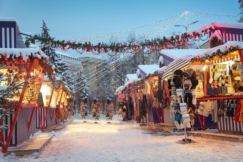 Winter in Riga lizenzfreies stockbild