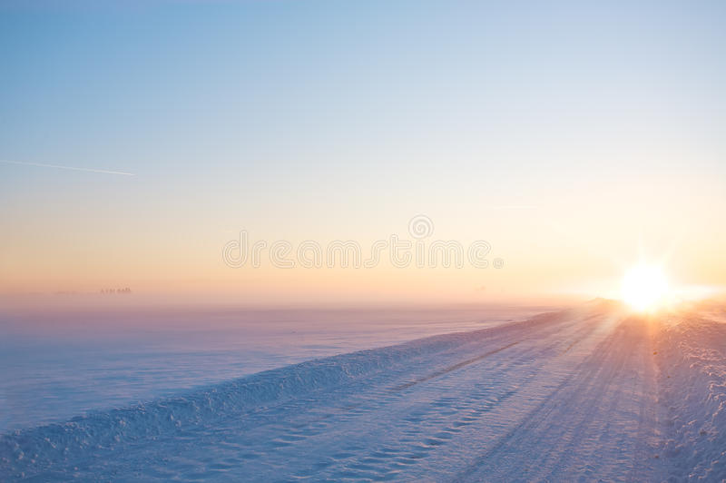 Download Winter Road Stock Photos - Image: 16402973