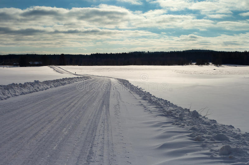 Download Winter Road In Latvia, Europe. Stock Photo - Image: 29178316