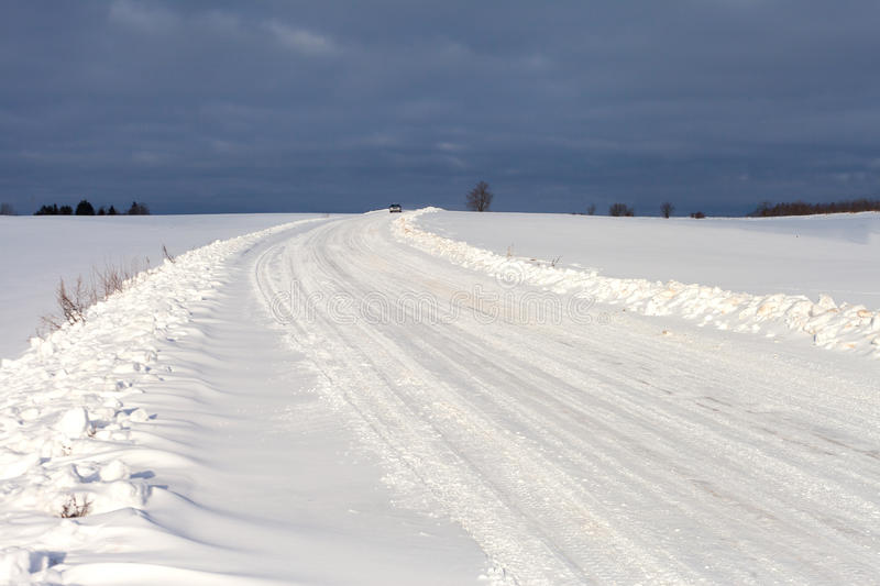 Download Winter Road In Latvia, Europe. Stock Photo - Image: 29178326