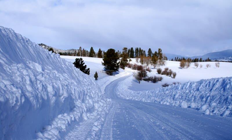 Download Winter Rural Roads stock photo. Image of deep, hazardous - 4090676