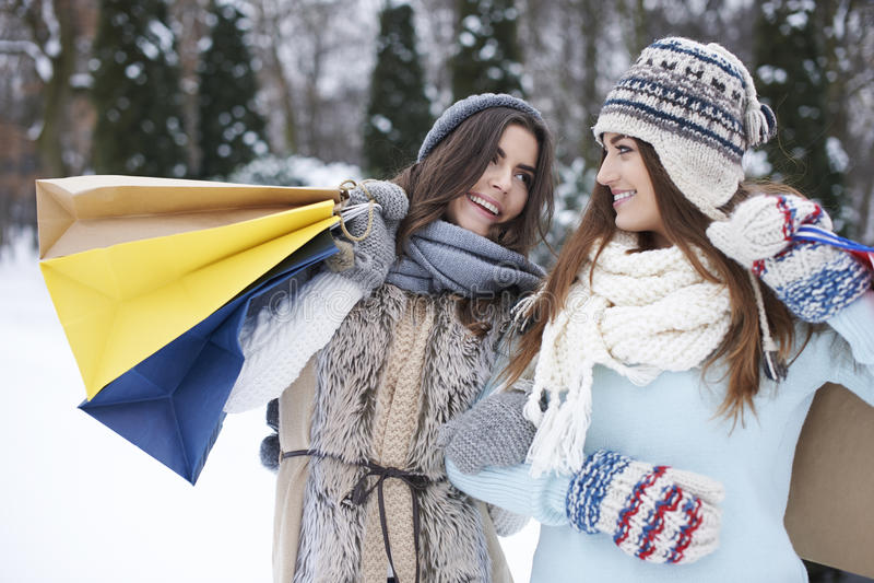 Winter sale! stock image
