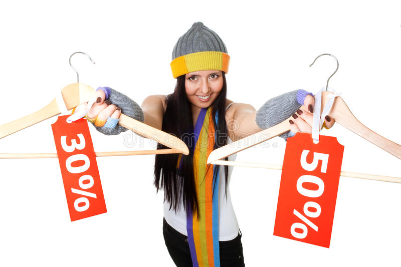 Download Winter sale great deal stock photo. Image of sale, message - 12202022