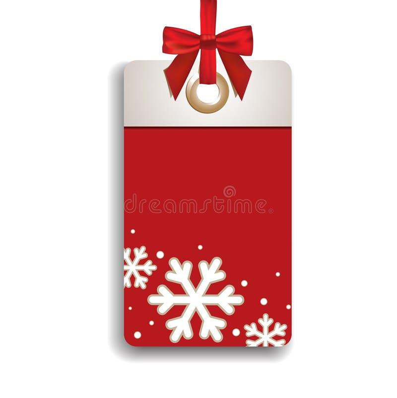 Winter Sales Tag royalty free illustration