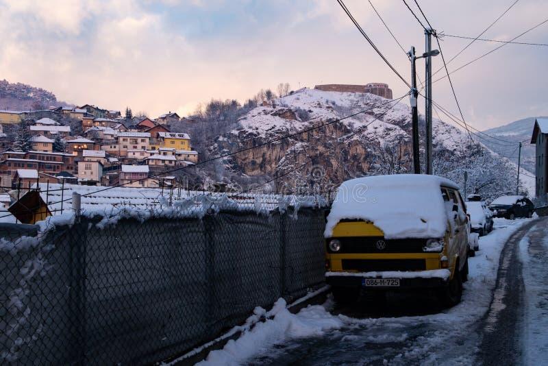 Winter in Sarajevo stockbild