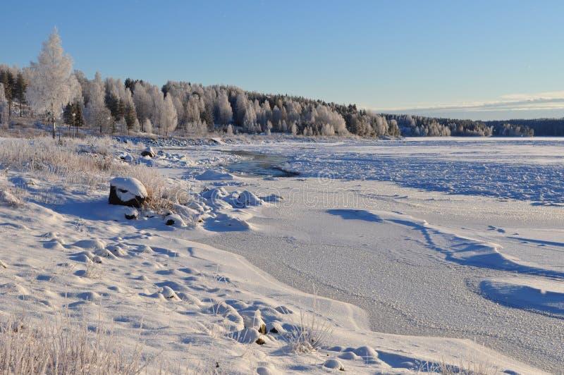 Download Winter in Scandinavia stock image. Image of snow, scene - 17280653
