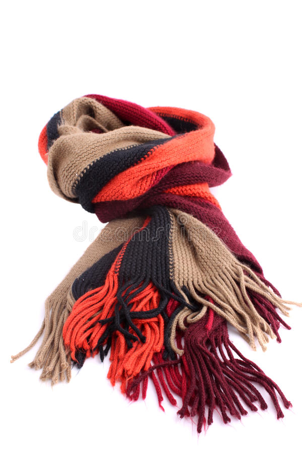 Winter Scarf royalty free stock image