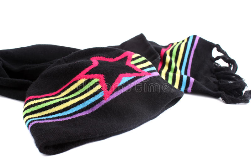 Download Winter scarf and hat stock photo. Image of hats, trend - 10981534