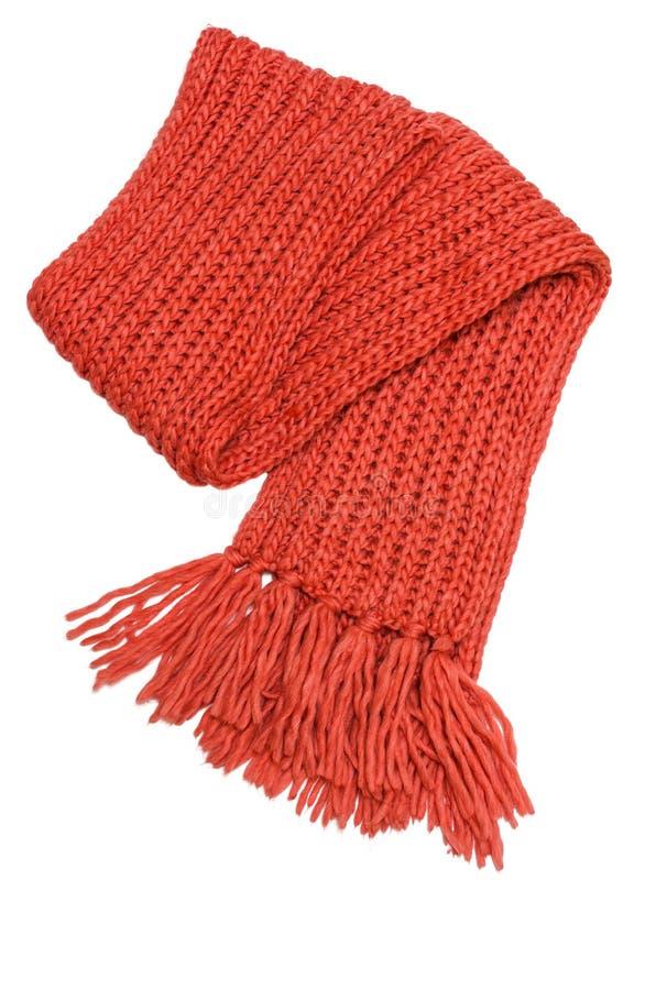 Winter scarf stock photo