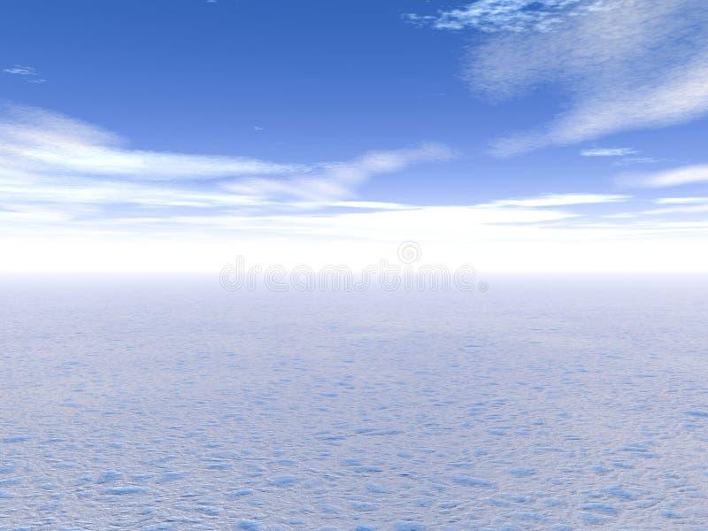 Winter_Scene ilustração do vetor