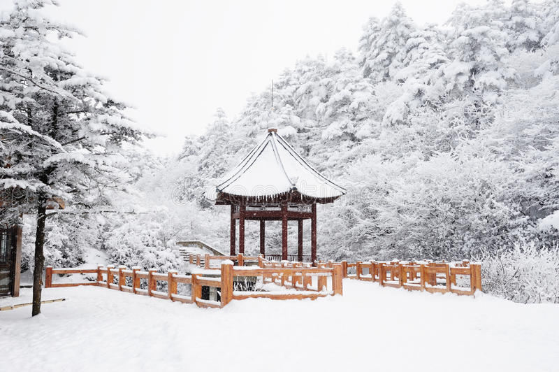 Download Winter Scene At Mt. Emei Royalty Free Stock Photos - Image: 18610768