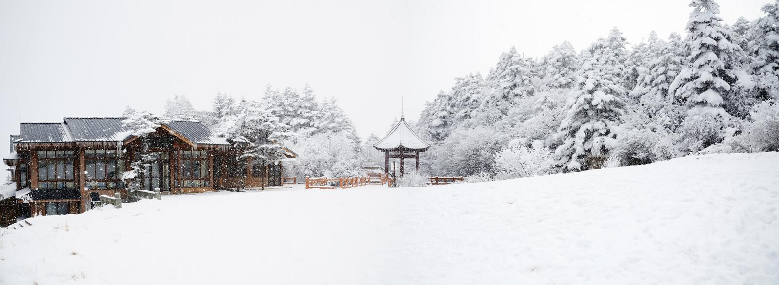 Download Winter Scene At Mt. Emei Stock Images - Image: 18895564