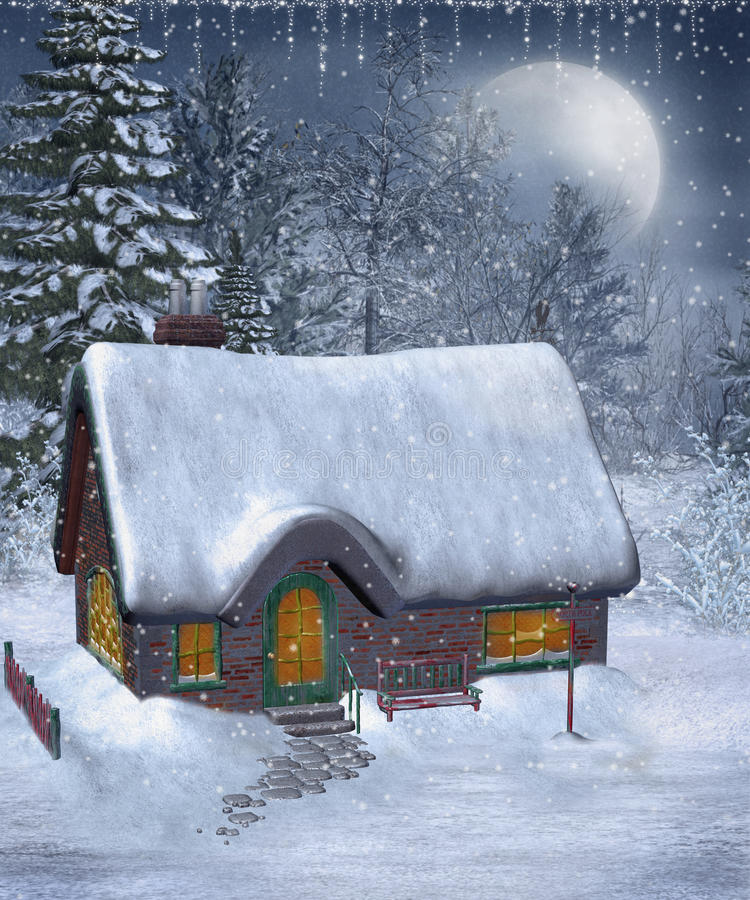 Winter Scenery 13 Royalty Free Stock Images