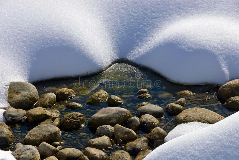 Download Winter scenery stock photo. Image of footprints, winter - 13413092