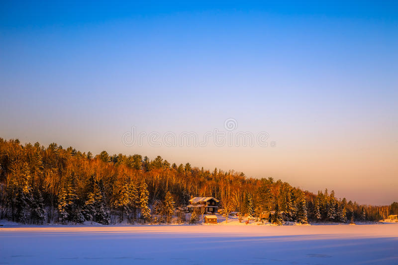 Download Winter scenery stock image. Image of nature, provincial - 83718361