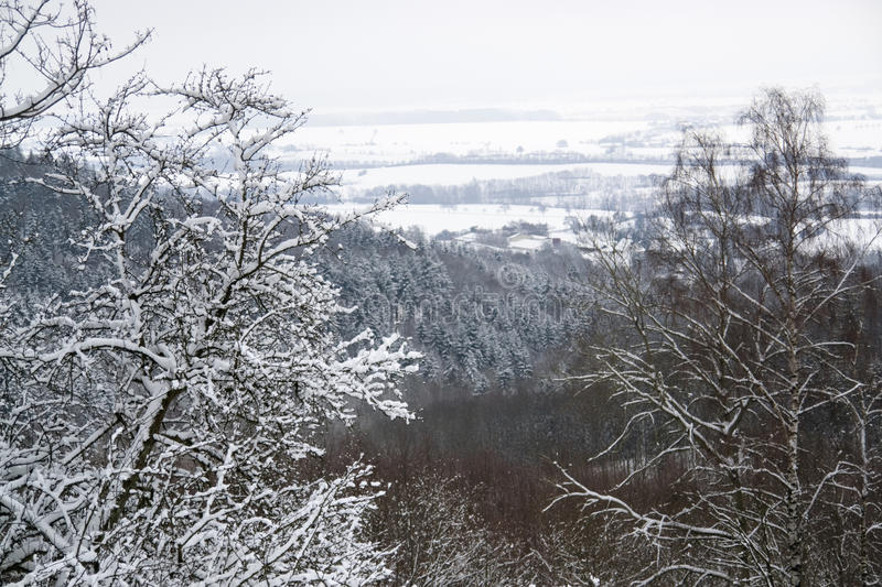 Download Winter Scenery In Hohenlohe Stock Photo - Image: 23356520