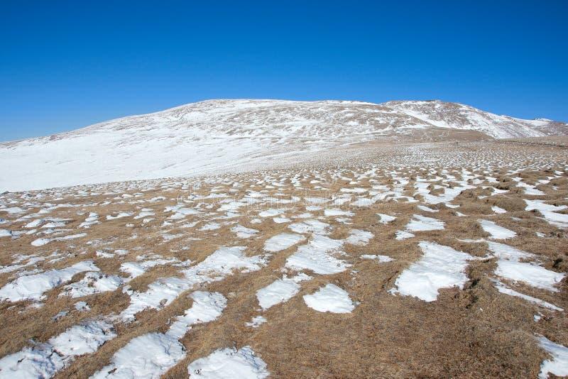 Winter scenery of Wutaishan royalty free stock image