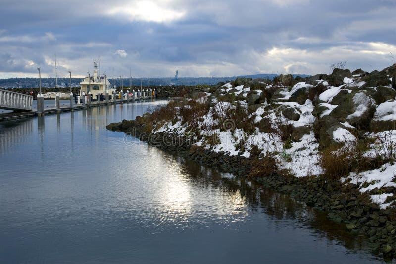 Download Winter Scenic Port Townsend Washington Stock Photo - Image: 9810064