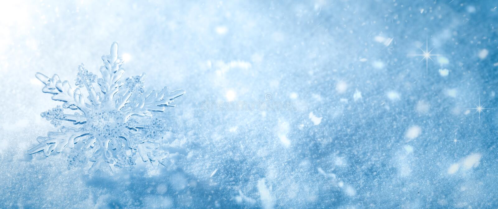 Winter Schnee Background lizenzfreie stockbilder