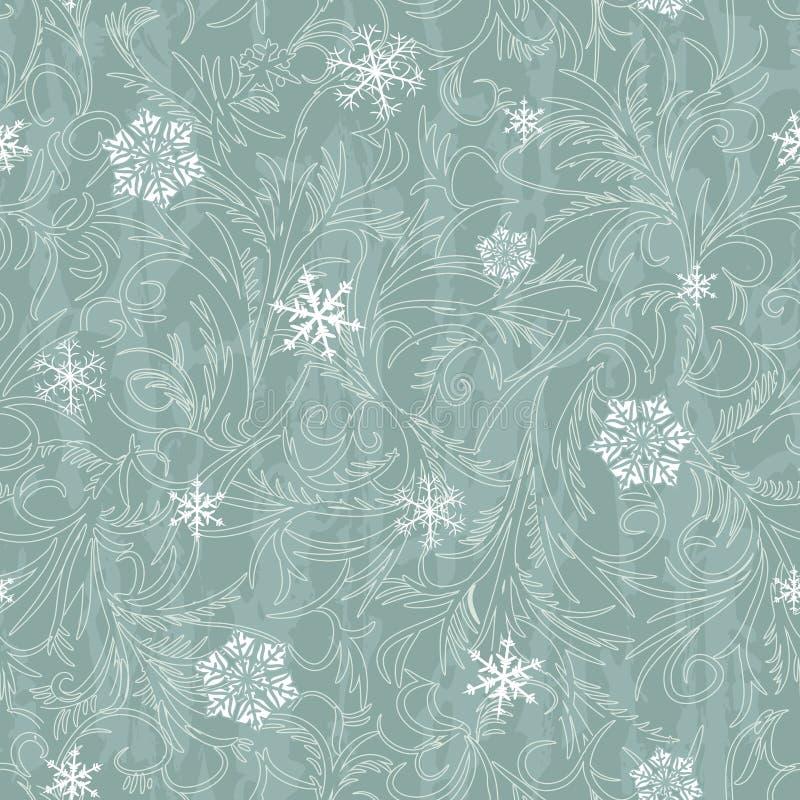 Winter seamless pattern vector illustration