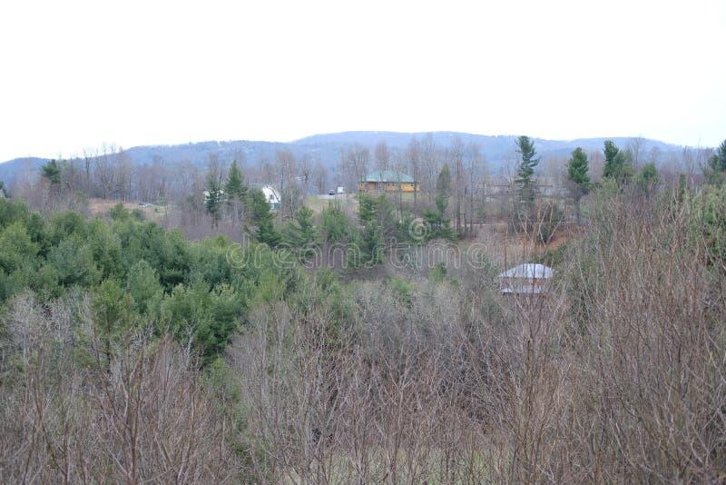 Blue ridge parkway in North Carolina stock photos