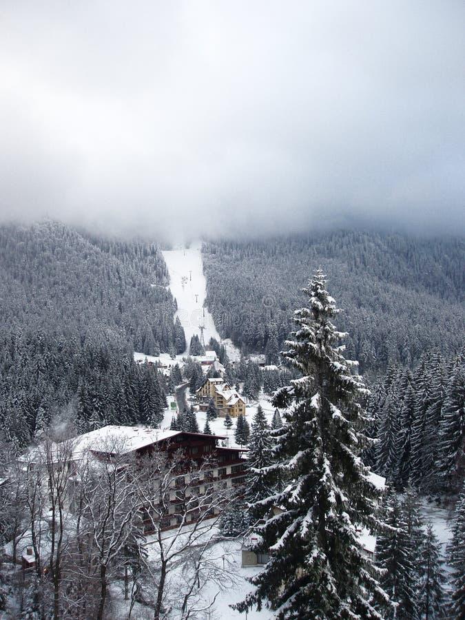 Download Winter ski landscape stock photo. Image of lodge, mountain - 4469484