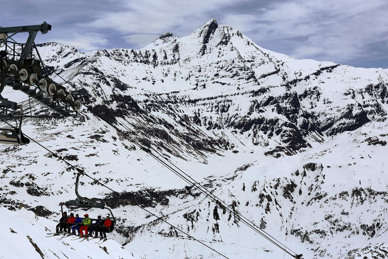 Winter Ski Resort Of TignesVal D Isere France Editorial Photo