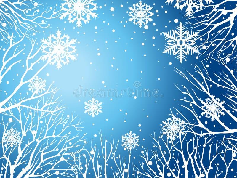 Download Winter sky stock vector. Illustration of seasonal, nature - 17296240