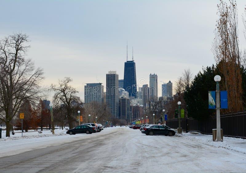 Winter Skyline royalty free stock photo