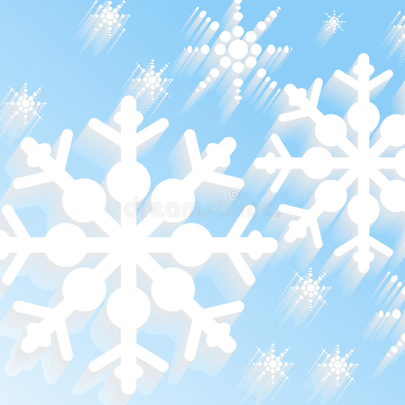 Download Winter snow background stock illustration. Image of backgrounds - 28594870