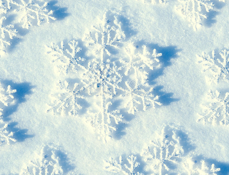 Winter Snow Background royalty free stock photo