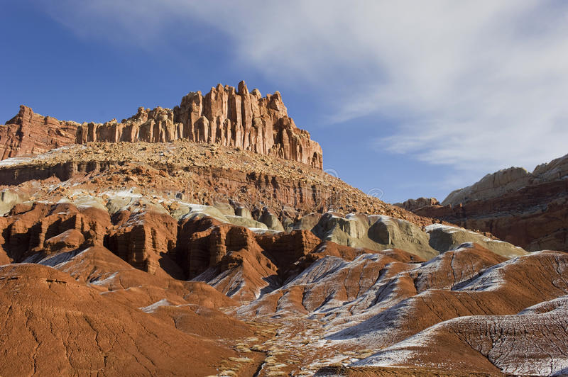 Download Winter,snow At Capitol Reef N.P. Stock Image - Image: 23586057