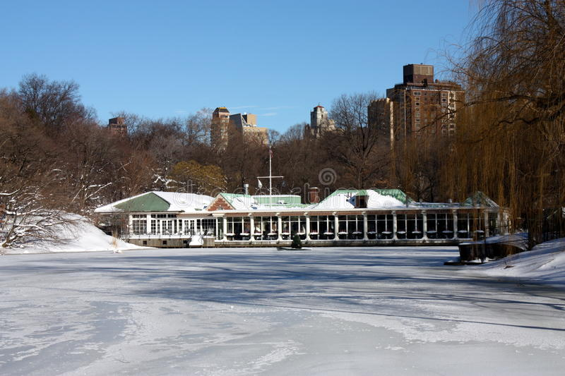 Download Winter Snow In Central Park Stock Photo - Image: 17637946