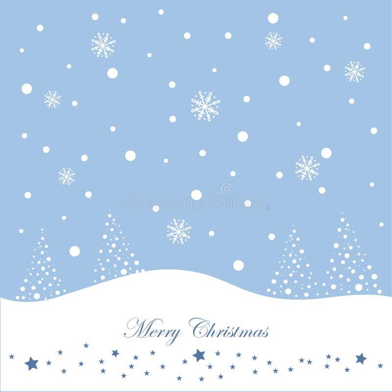 Winter, snow vector illustration