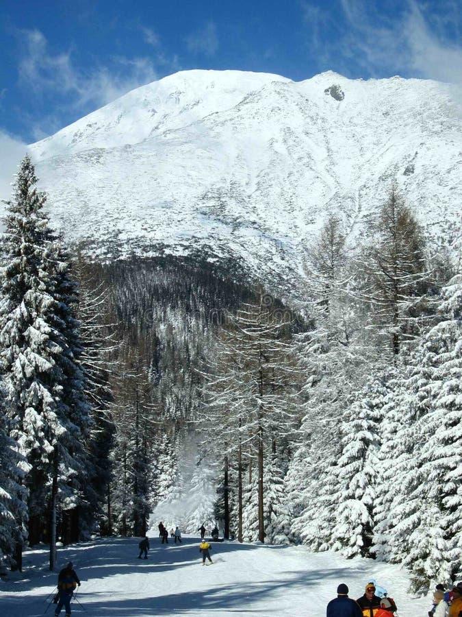 Winter, Snow, Mountainous Landforms, Mountain Range royalty free stock photos