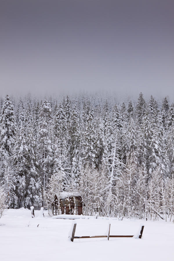 Download Winter Snow Shack Stock Photography - Image: 22985262