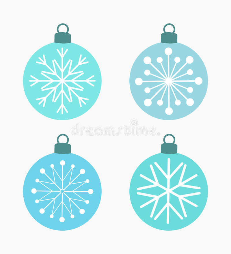 Free Winter Snowflake Baubles Stock Photo - 65618560