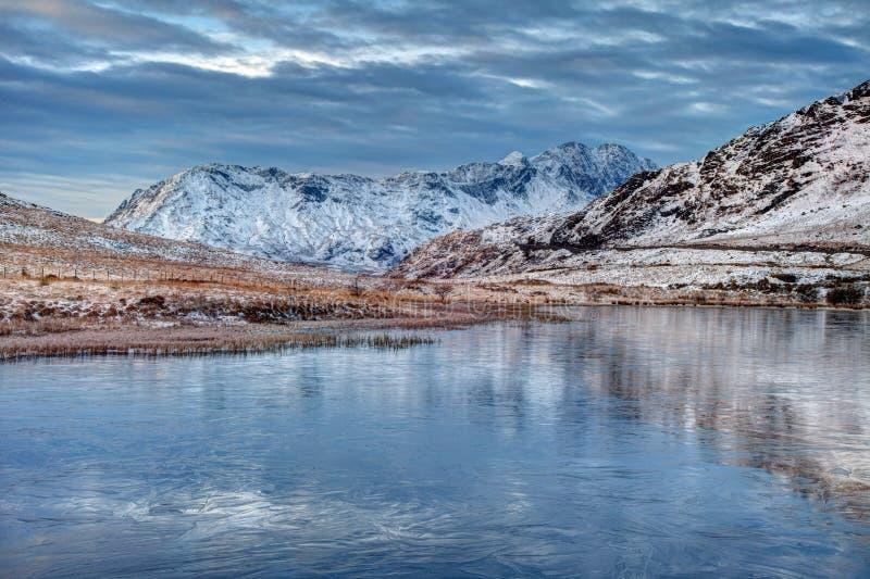 Download Winter Scenes stock image. Image of snowdonia, north - 29716213
