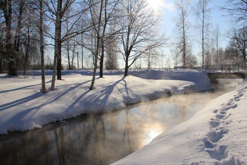 Winter Sola stock image