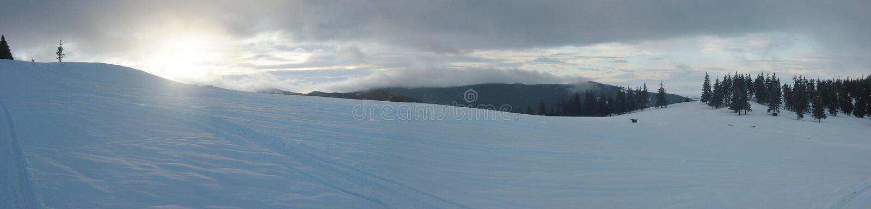 Download Winter-Sonnenaufgang-Panorama Stockbild - Bild: 34125