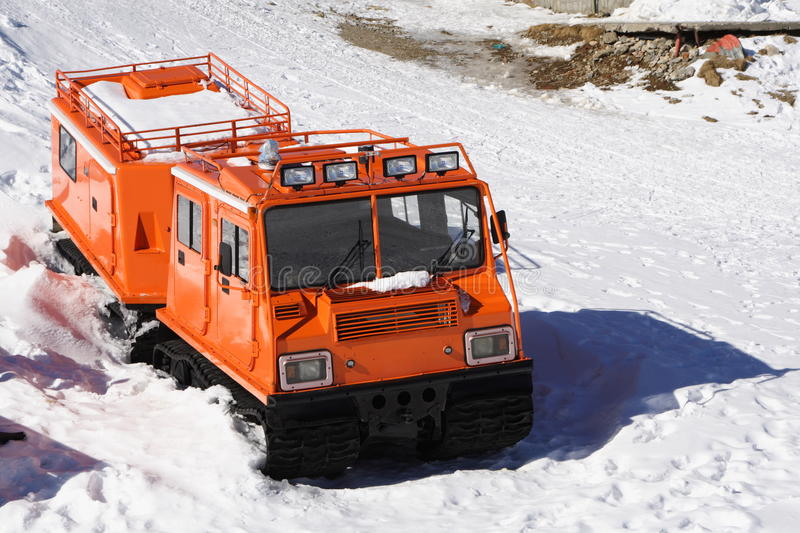 Download Winter Special Transportation Vehicle Stock Photo - Image of antarctica, froze: 18896650