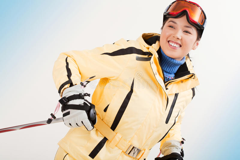 Download Winter sport stock photo. Image of clothes, cute, beautiful - 17330616