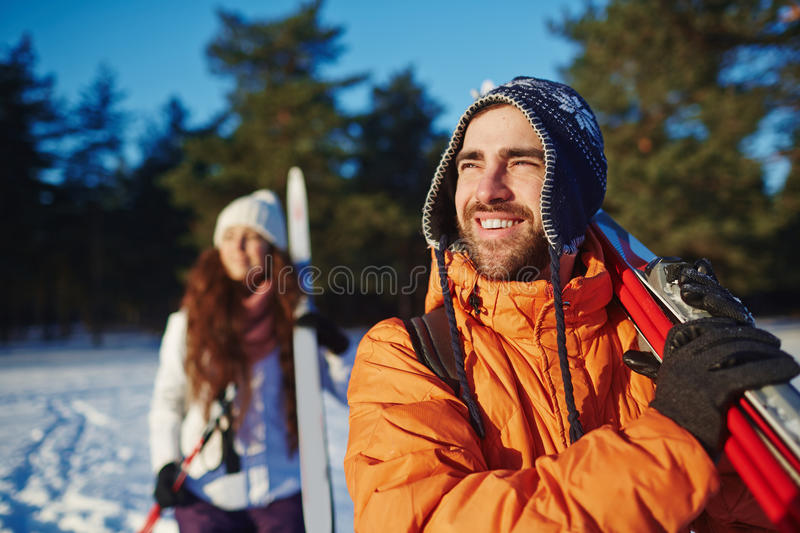 Winter sport royalty free stock photos